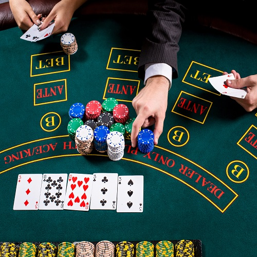 Five card draw rules