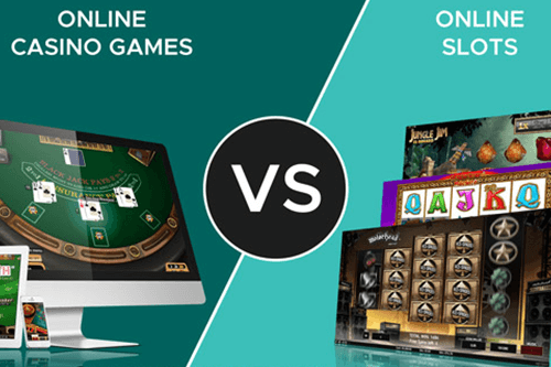 Are slots better than table games?