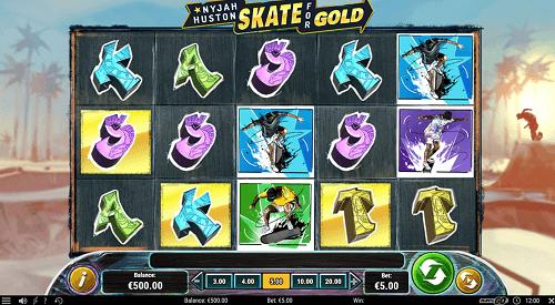 Skate for Gold July Pokie